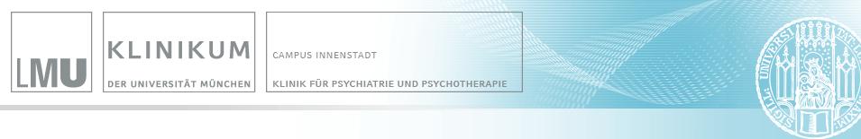 Psychiatrischen Klinik des Klinikums der LMU