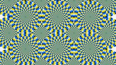 optische Täuschung: Kreisillusion
