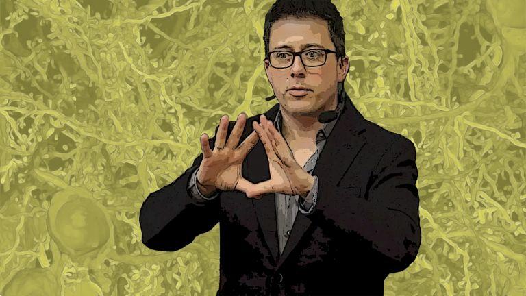 Moritz Helmstaedter im Vortrag