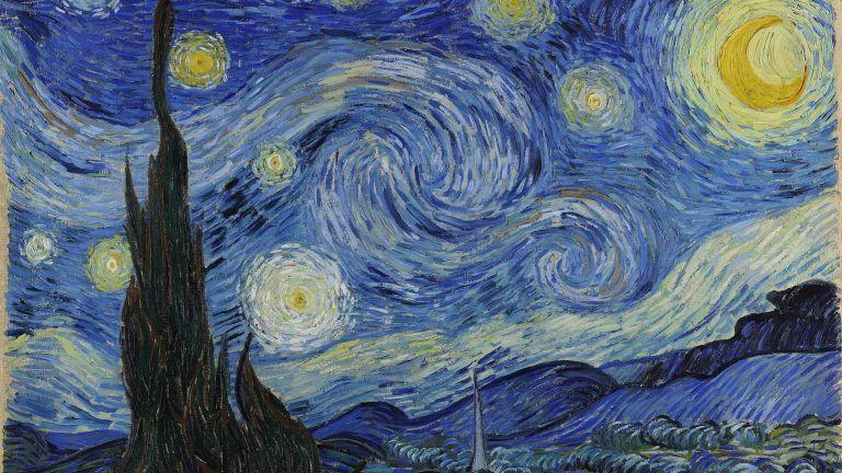 Sternennacht, Vincent van Gogh, gemeinfrei