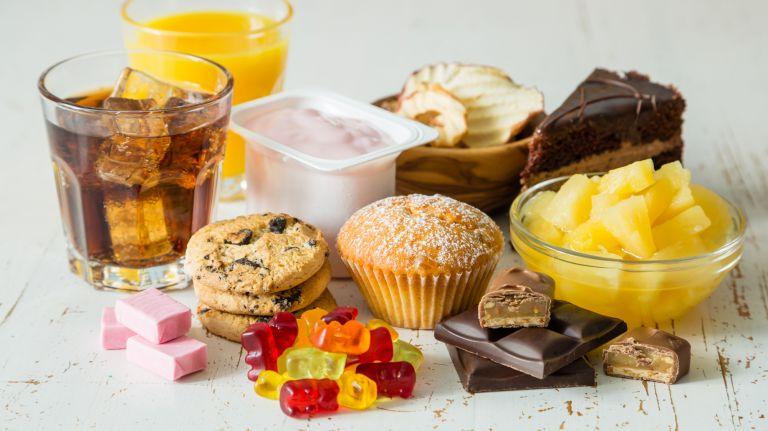 Zucker und Fett