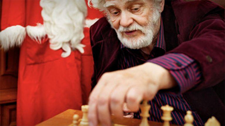 Schach mit Knecht Ruprecht