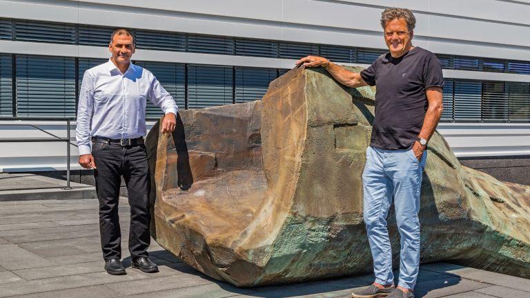 Bochumer Forschungsteam: Samir El-Mashtoly (links) Klaus Gerwert