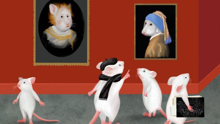 Mäuse können Experten darin werden, Bilder anhand feiner Unterschiede zu sortieren. Teile des erworbenen Wissens wird in frühen visuellen Hirnarealen gespeichert.